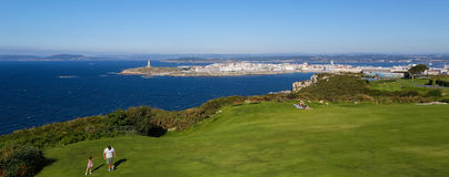 A Coruna - Tower of Hercules Royalty Free Stock Image