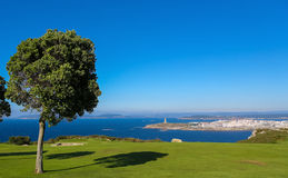 A Coruna - Tower of Hercules Royalty Free Stock Images