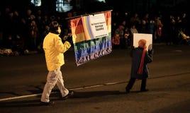 Corvallis卫理公会派教徒运载婚姻平等签到假日同水准 图库摄影