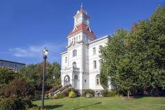 Corvallis法院大楼 库存照片