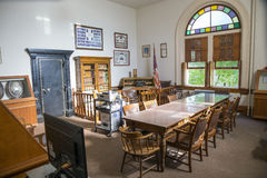 Corvallis-Gericht lizenzfreie stockbilder