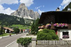 Corvara in Badia Royalty Free Stock Photos