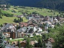 Corvara in Badia (Alta Badia), Italia, montagne di Dolomiten Immagini Stock Libere da Diritti