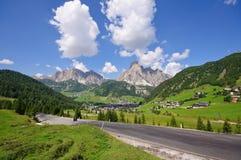 Corvara in Badia - Dolomit, Italien stockfotos