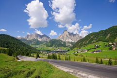 Corvara in Badia - Dolomites, Italy Stock Photos