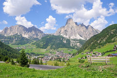 Corvara in Badia - Dolomites, Italy Stock Photography