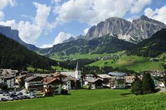 Corvara in Badia Royalty Free Stock Photography
