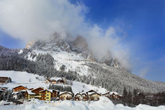 Corvara in Badia Stock Photography