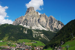Corvara landscape Stock Photography