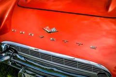 Corvetta rossa 1961 fotografie stock libere da diritti