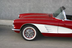 Corvette fotografia stock