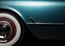 Corvette 1954 Photos libres de droits