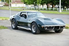 Corvette. Picture of the rare 1969 Chevrolet Corvette Baldwin Motion royalty free stock photography