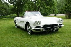 Corvette. A beautiful and rare 1962 Chevrolet Corvette Convertible royalty free stock photography