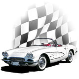 Corvette 1961 Photos stock