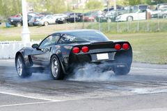 Corvette Royalty Free Stock Photos