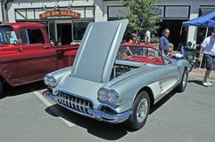 Corvette argentée Images stock