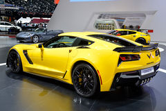 Corvette C7 motor car Stock Photos