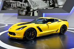 Corvette C7 motor car Royalty Free Stock Photography