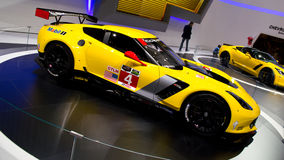 Corvette C7R Geneva 2014 Royalty Free Stock Photo