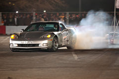 Corvette car drift Stock Photo
