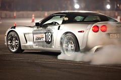 Corvette car drifting Stock Images