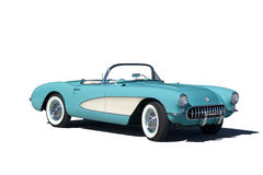 1957 Corvette Stock Image
