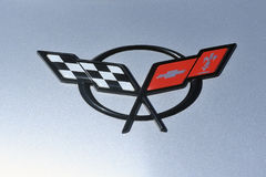Free Corvette Chevrolet Logo In Close-up Stock Photo - 96781650
