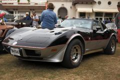 Corvette classique photos libres de droits