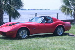 Corvette convertable Royalty Free Stock Image