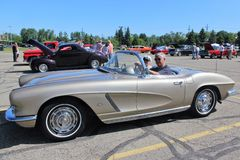 1962 Corvette Convertible Royalty Free Stock Images