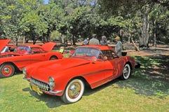 Corvette d'annata Immagini Stock