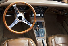 Corvette dashboard Stock Images