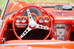 Corvette Dashboard Stock Photos