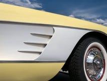 Corvette details. Unmistakable details, classic Chevy Corvette Royalty Free Stock Photo