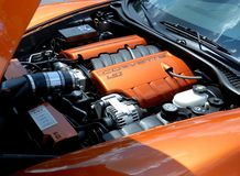 Corvette Engine Royalty Free Stock Photo