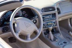 A Corvette Interior Royalty Free Stock Photos