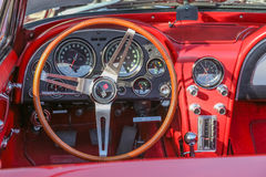 Corvette Interior Royalty Free Stock Image