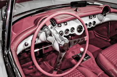1957 Corvette Interior Royalty Free Stock Photos