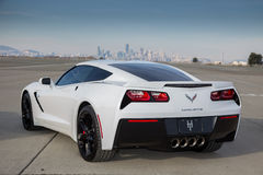 2017 Corvette Royalty Free Stock Photography