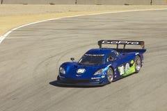 Corvette Potere-Sono alle grandi corse di Rolex Immagini Stock