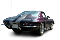corvette purplestingray Royaltyfri Bild