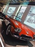 1958 Corvette. Red 1958 corvette Royalty Free Stock Photo