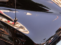 Corvette reflections Royalty Free Stock Photos