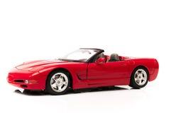 Corvette rojo Stock Photos