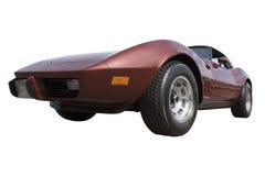 Corvette rosso Fotografia Stock Libera da Diritti