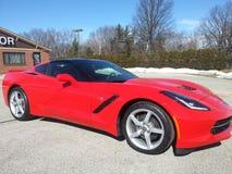 Corvette sting ray 2014 Royalty Free Stock Photos