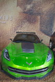 Corvette Stingray C7 concept from new movie Transformers Age of Extinction Royalty Free Stock Photos
