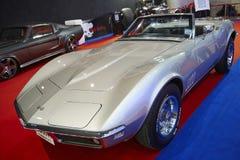Corvette Stingray Convertible car on display at The 36 th Bangko Royalty Free Stock Photography