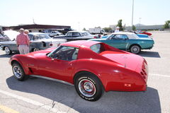 Corvette Stingray coupe Stock Image